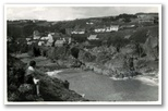 Gilbert Hannington on the cliffs above Cadgwith village, about 1930