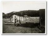 Launching a kite at the Coach House in Cadgwith, Cornwall, in the early 1930s