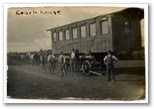 The Old Coach on its move from Swindon to Cadgwith in 1928. It was originally built as an Egyptian state carriage